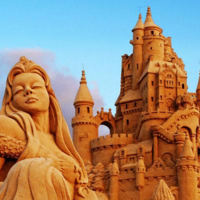 Скульптуры из песка Пермь
