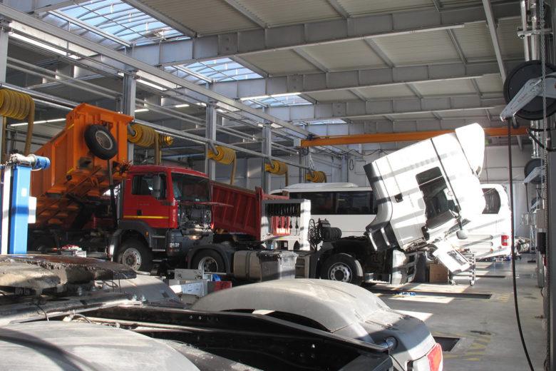 Автосервис по ремонту грузовиков