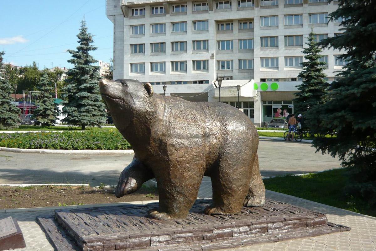 идущий медведь Пермь