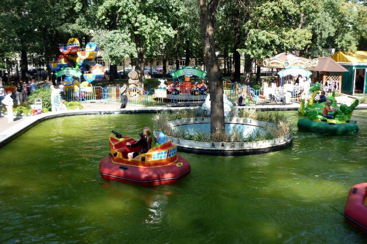 Погулять с ребенком в парке Горького